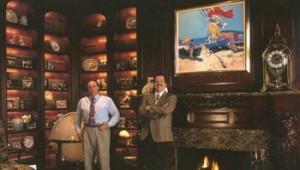 Mr. Kretzschmar (right) and Mr. Stephens (left) established Illuminations Lighting Design in 1980.