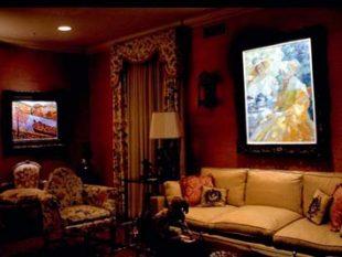 Living Room Art Projector