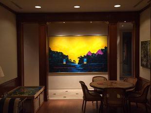 Wulf Barsch Painting Illumination